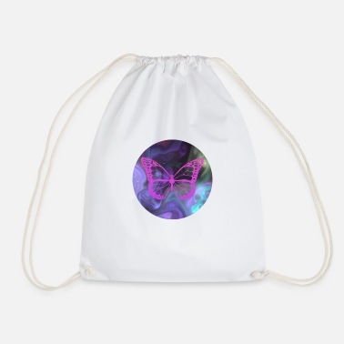 Great butterfly pattern - Drawstring Bag