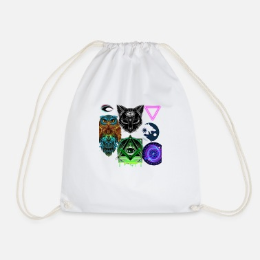 the Oile, the Kadse, the Wolf, the Trinity - Drawstring Bag
