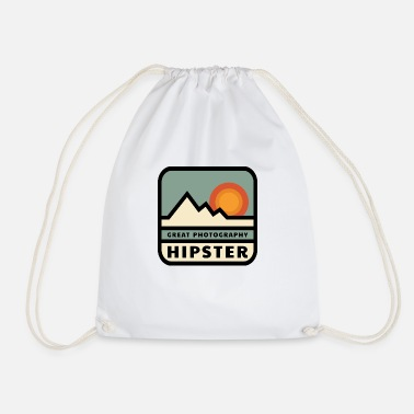 Great Photography Hipster - Photographer, Instgram, - Drawstring Bag