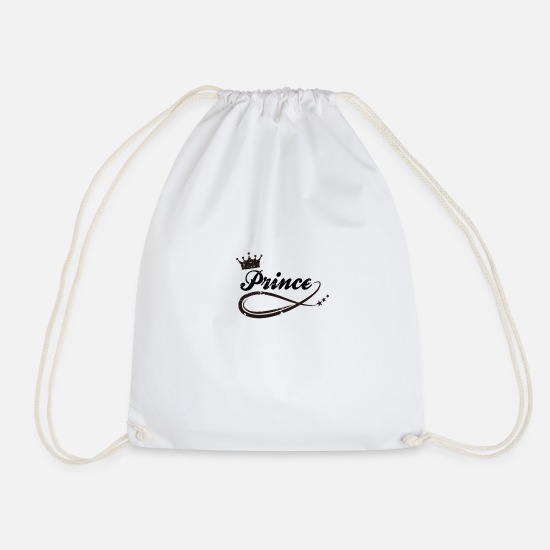Prince Bags & Backpacks - Prince - Drawstring Bag white