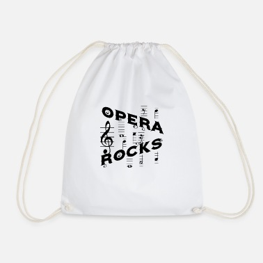 Opera Opera rocks - Drawstring Bag