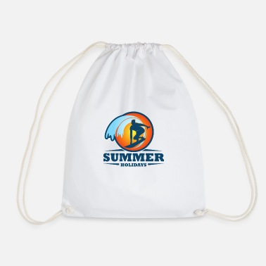 SUMMER HOLIDAYS - Drawstring Bag