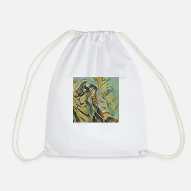 Shadow Puppet Shadow world: dragon - Drawstring Bag