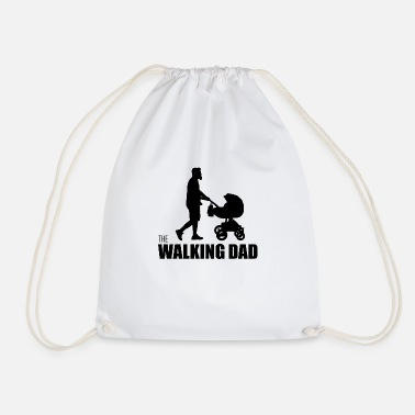 Humour Humour walking Dad - Drawstring Bag