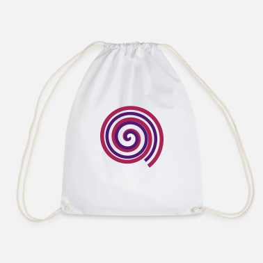 Turn Turn, turn, turn - Drawstring Bag
