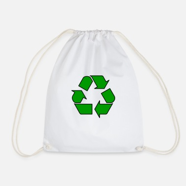 Enviromental Recycle - Drawstring Bag