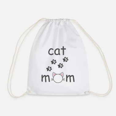 Makula Cats mom - Drawstring Bag