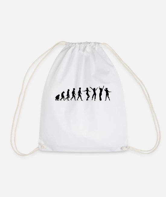 Guitar Bags & Backpacks - musician eguitar violin orchestra violin band6 - Drawstring Bag white