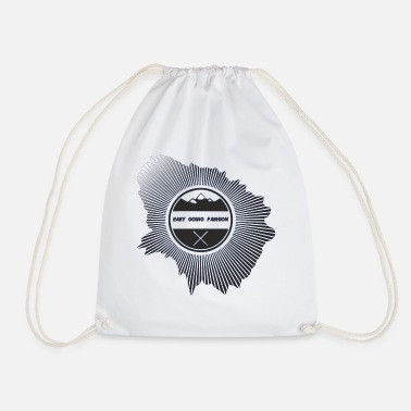 Easy Going Fashion Easy going fashion for dresses as a cool logo - Drawstring Bag