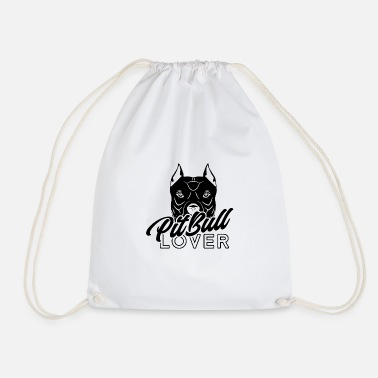 Dog Lover Pit Bull Lover Dog Dog Dog Lover Dog Lover - Drawstring Bag
