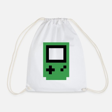 Console green console - Drawstring Bag