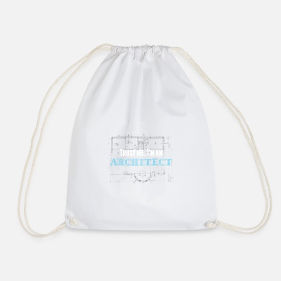 Career Bags & Backpacks - architect - Drawstring Bag white