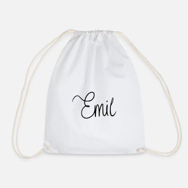 Name Day Emil - Drawstring Bag