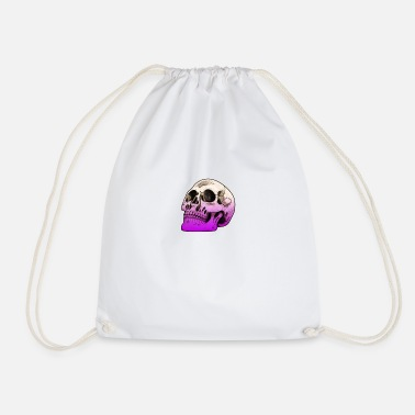 Envy Skull envy death - Drawstring Bag