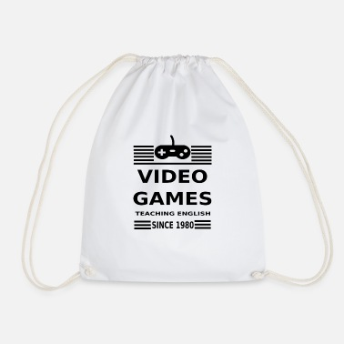 Video Game Video Games - Drawstring Bag