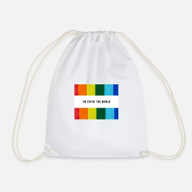 ON TOP OF THE WORL - Drawstring Bag