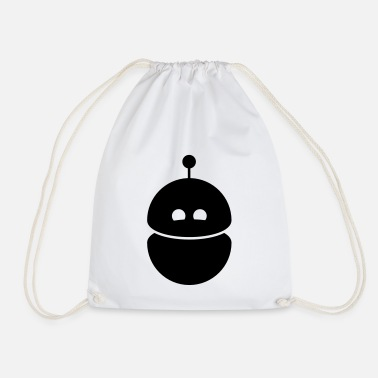 robot1 - Drawstring Bag