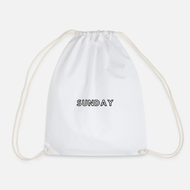 Sunday Sunday / Sunday - Drawstring Bag
