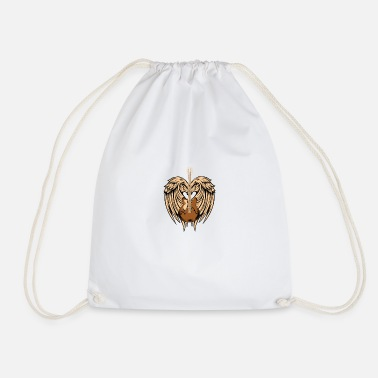Angel's Wings Angel's Music - Drawstring Bag
