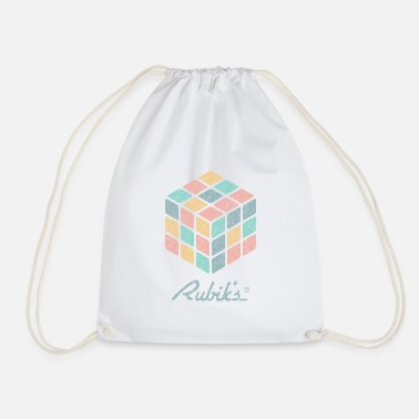 Rubiks Cube Rubik's Cube Pastell-Coloured Print - Gymtas