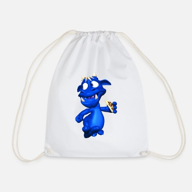 Streaker Pizza Streaker - Drawstring Bag