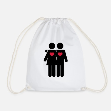 Lovers - Drawstring Bag