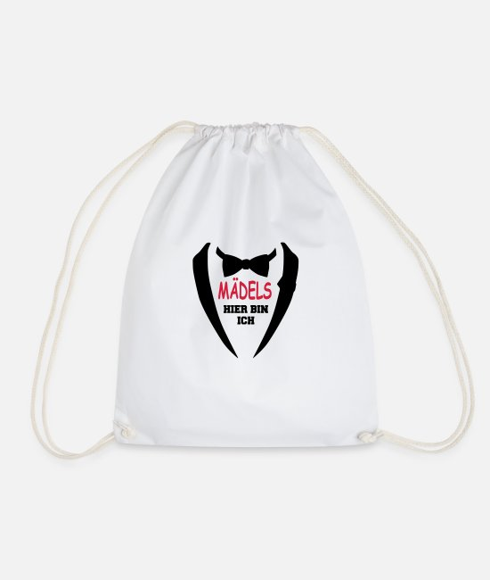 Grandpa Bags & Backpacks - Child baby birthday gift sayings suit bow tie - Drawstring Bag white