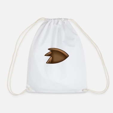 Raptor Dinosaur Claw Print - Drawstring Bag