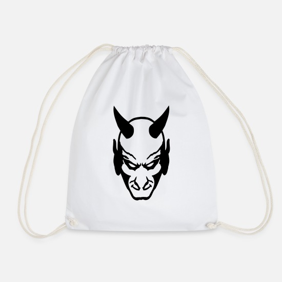 Devil Bags & Backpacks - devil - Drawstring Bag white