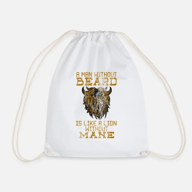 Mane No bard no mane - Drawstring Bag