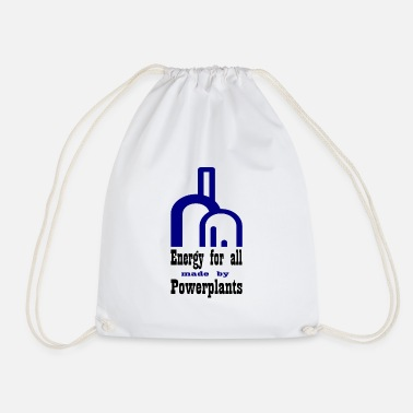 Power Plant power plant - Drawstring Bag