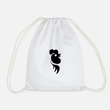 Rooster Rooster rooster - Drawstring Bag