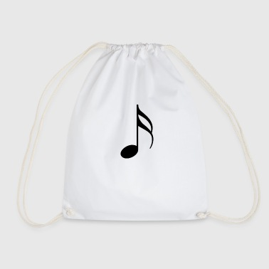 The music note - Drawstring Bag