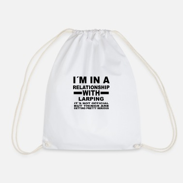 Larp Relationship with LARPING - Drawstring Bag