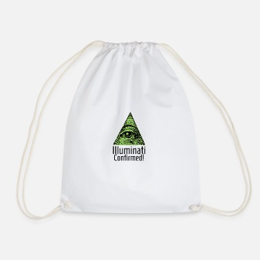 Illuminati Illuminati Confirmed - Illuminati Shirt - Drawstring Bag