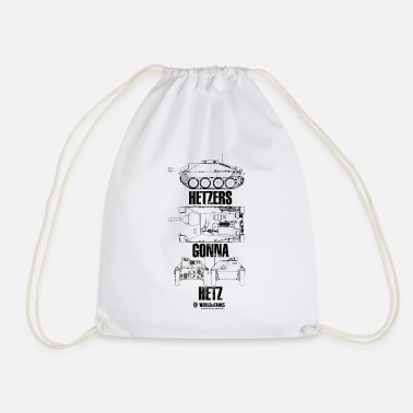 World of Tanks Hetzers Gonna Hetz - Drawstring Bag