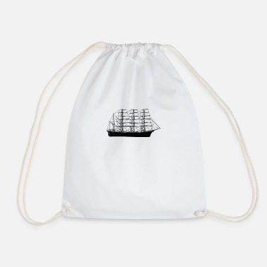 Sailboat sailboat - Drawstring Bag