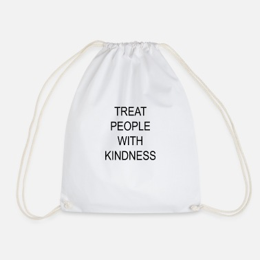 Harry TREAT PEOPLE WITH KINDNESS Harry Merch - Drawstring Bag