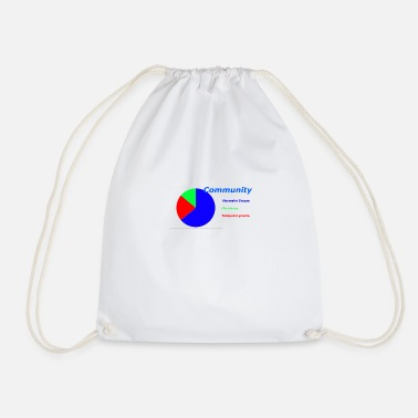 Community Community - Drawstring Bag