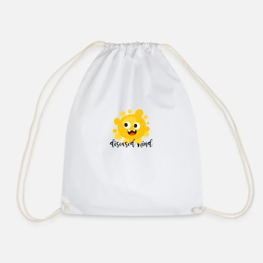 Disease diseased mind - Drawstring Bag