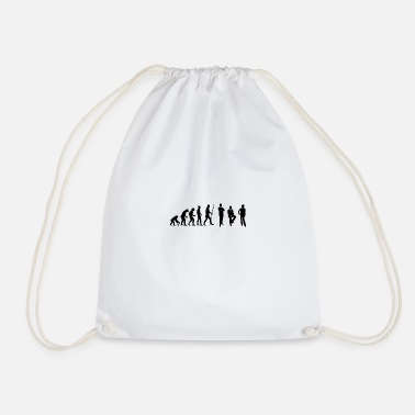 Conference Evolution conference and meeting in the office - Drawstring Bag