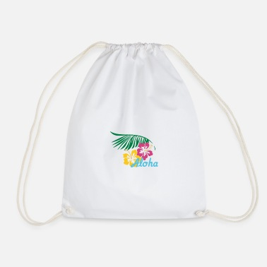 Aloha bright - Drawstring Bag