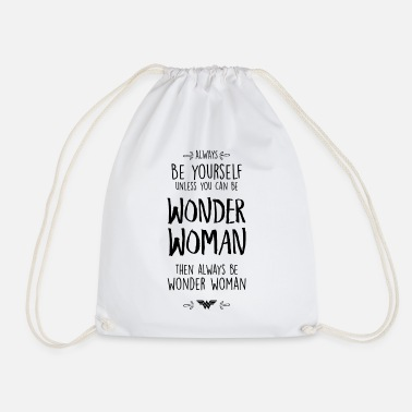 DC Comics Always Be Wonder Woman - Turnbeutel