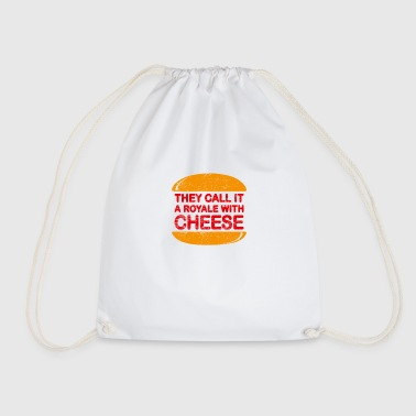 Royale With Cheese - Drawstring Bag