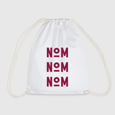 NAME NAME NAME - Red - Drawstring Bag