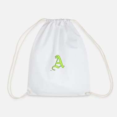AT Shirt A The letters - Drawstring Bag