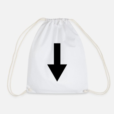 Down down - Drawstring Bag