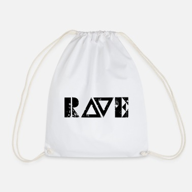 Music Techno - Techno music - Rave Shirt - Turnbeutel