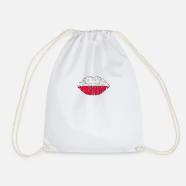 Kiss Poland - Drawstring Bag