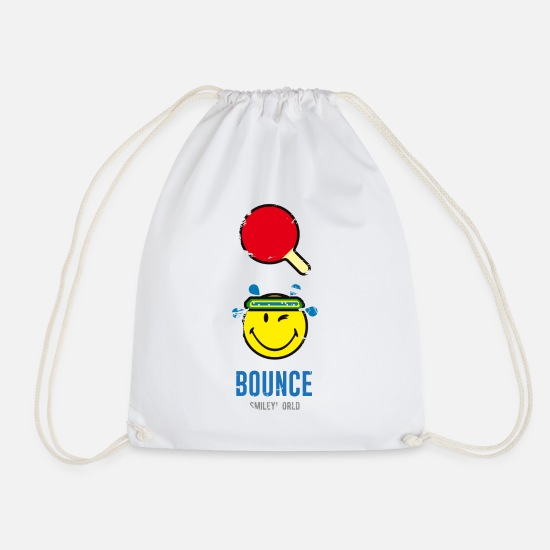 Sports Bags & Backpacks - SmileyWorld BOUNCE - Drawstring Bag white